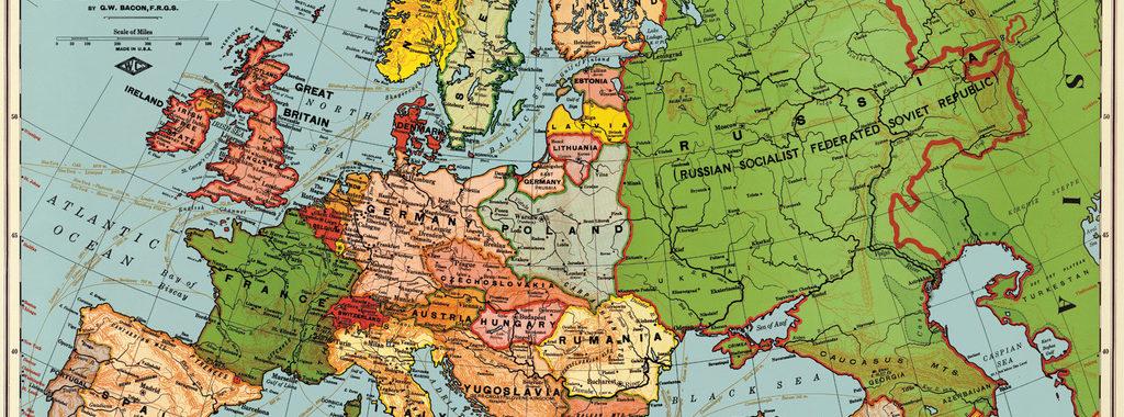 landkaart europa