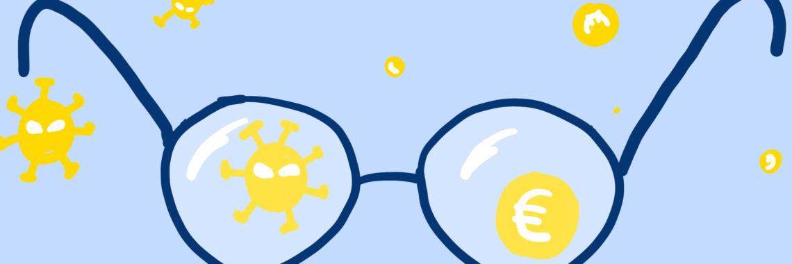 bril-virusgeld-overgang-groot